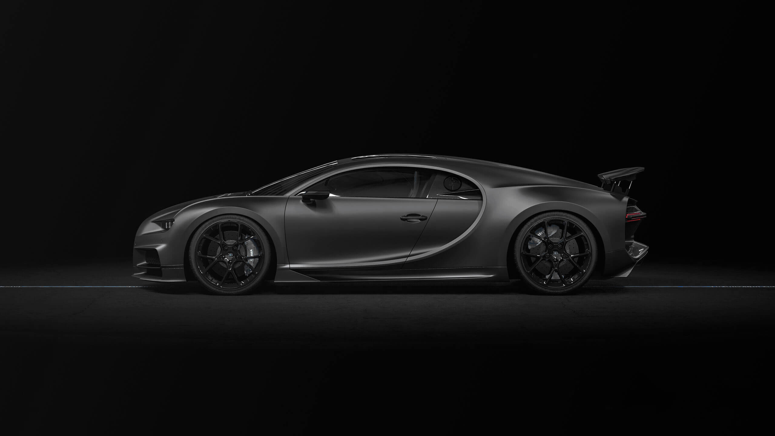 Bugatti Chiron Black Sport Noire Delivery Miles For Sale