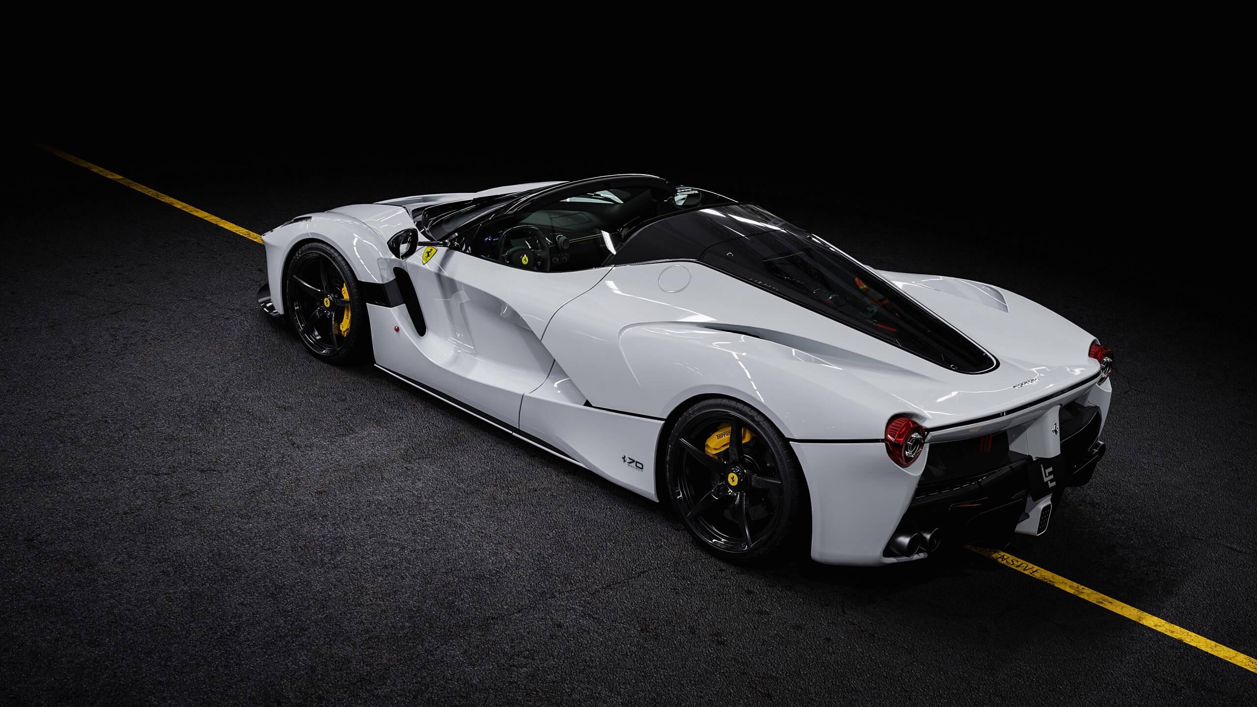 Ferrari Laferrari Aperta White Delivery Miles Us Specs For Sale