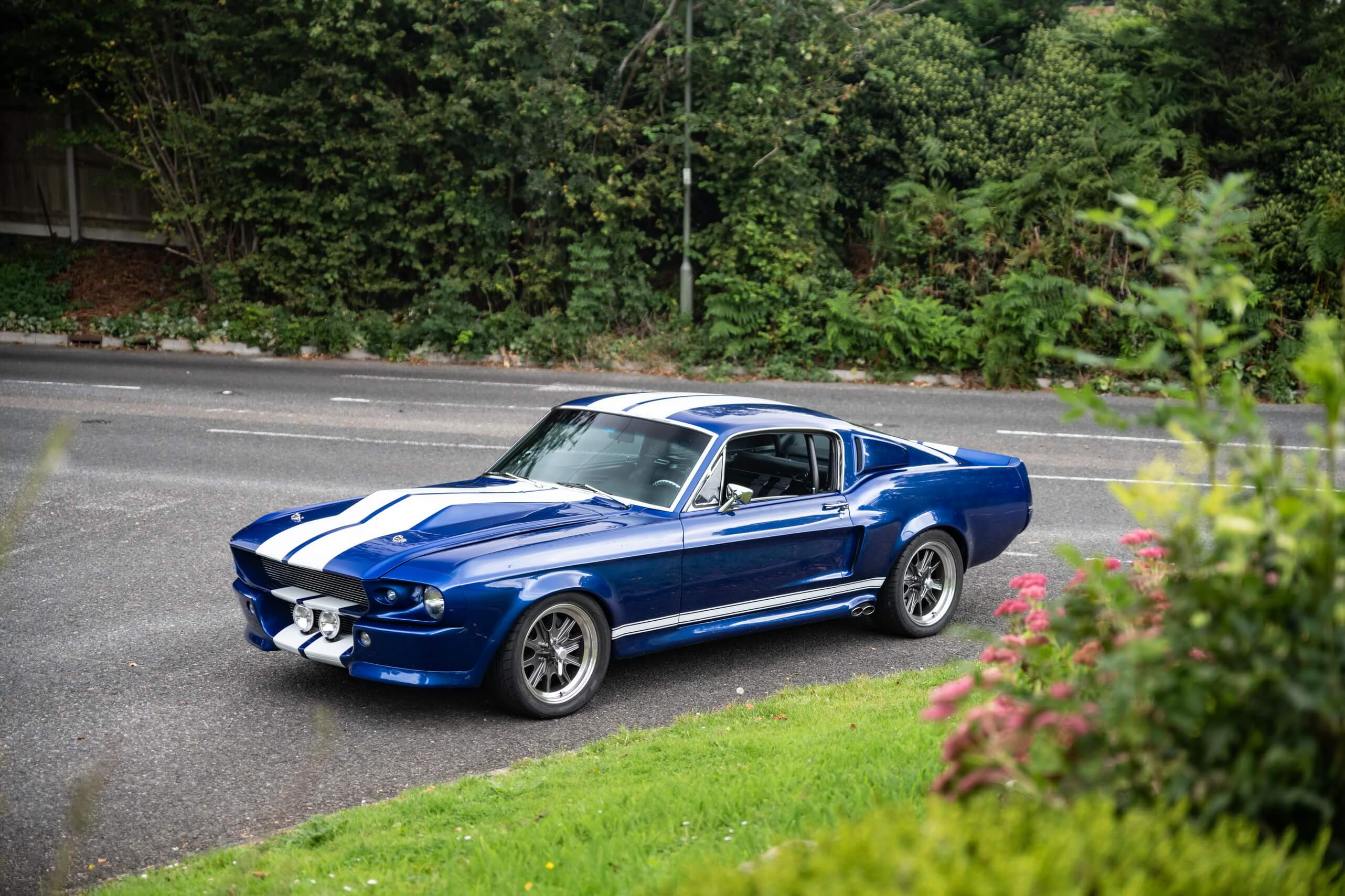 Ford Mustang (Blue), 1967 now for € 115,744 - buy @ Rikon ...