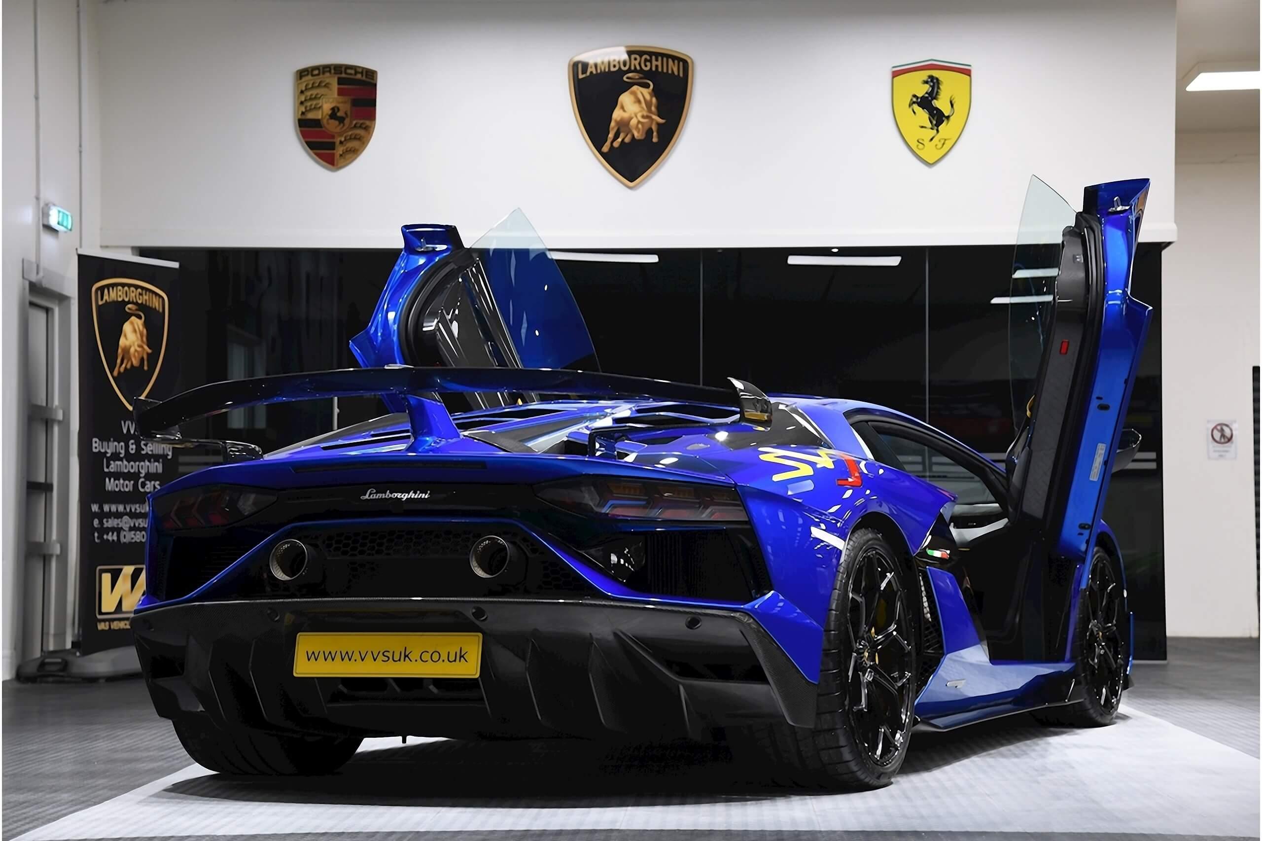Lamborghini For Sale >> Lamborghini Aventador Svj Lp 770 4