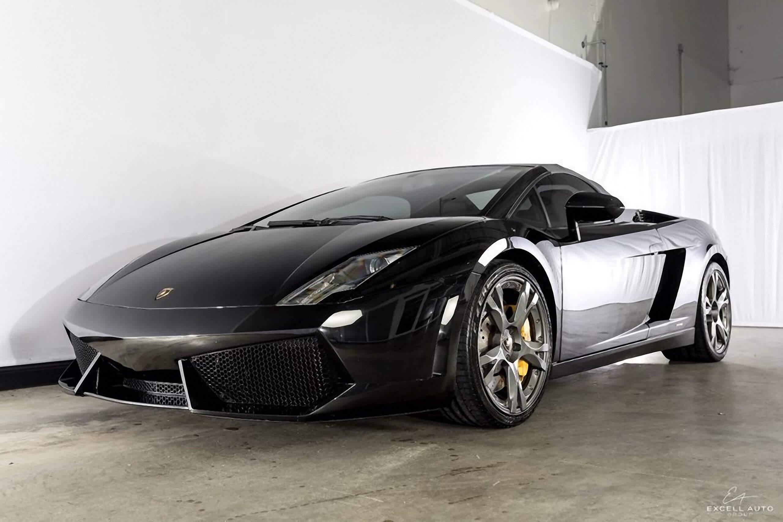 Excell Auto Group >> Lamborghini Gallardo (Black) - 34597