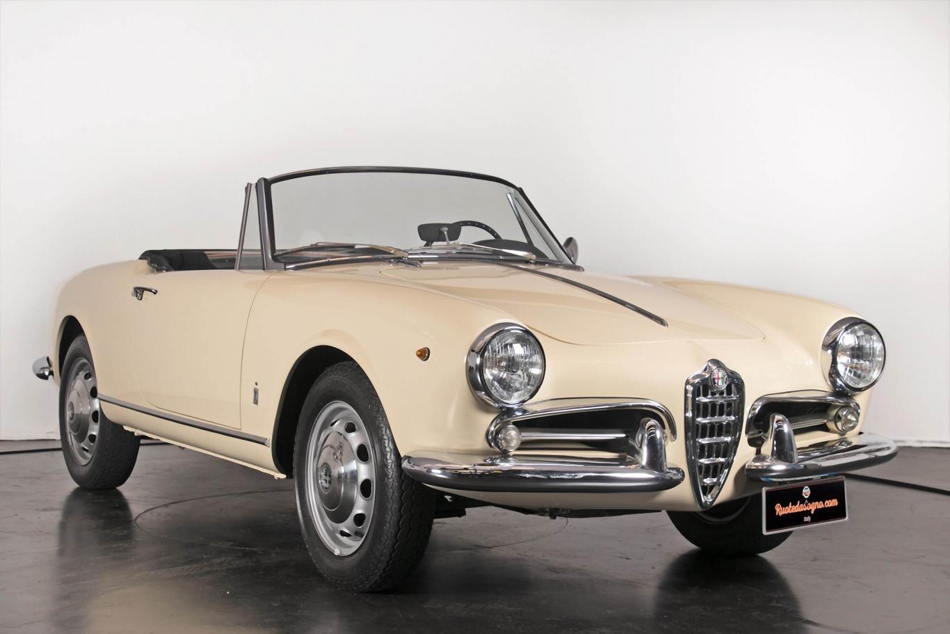 Alfa Romeo Spider >> Alfa Romeo Giulietta Spider