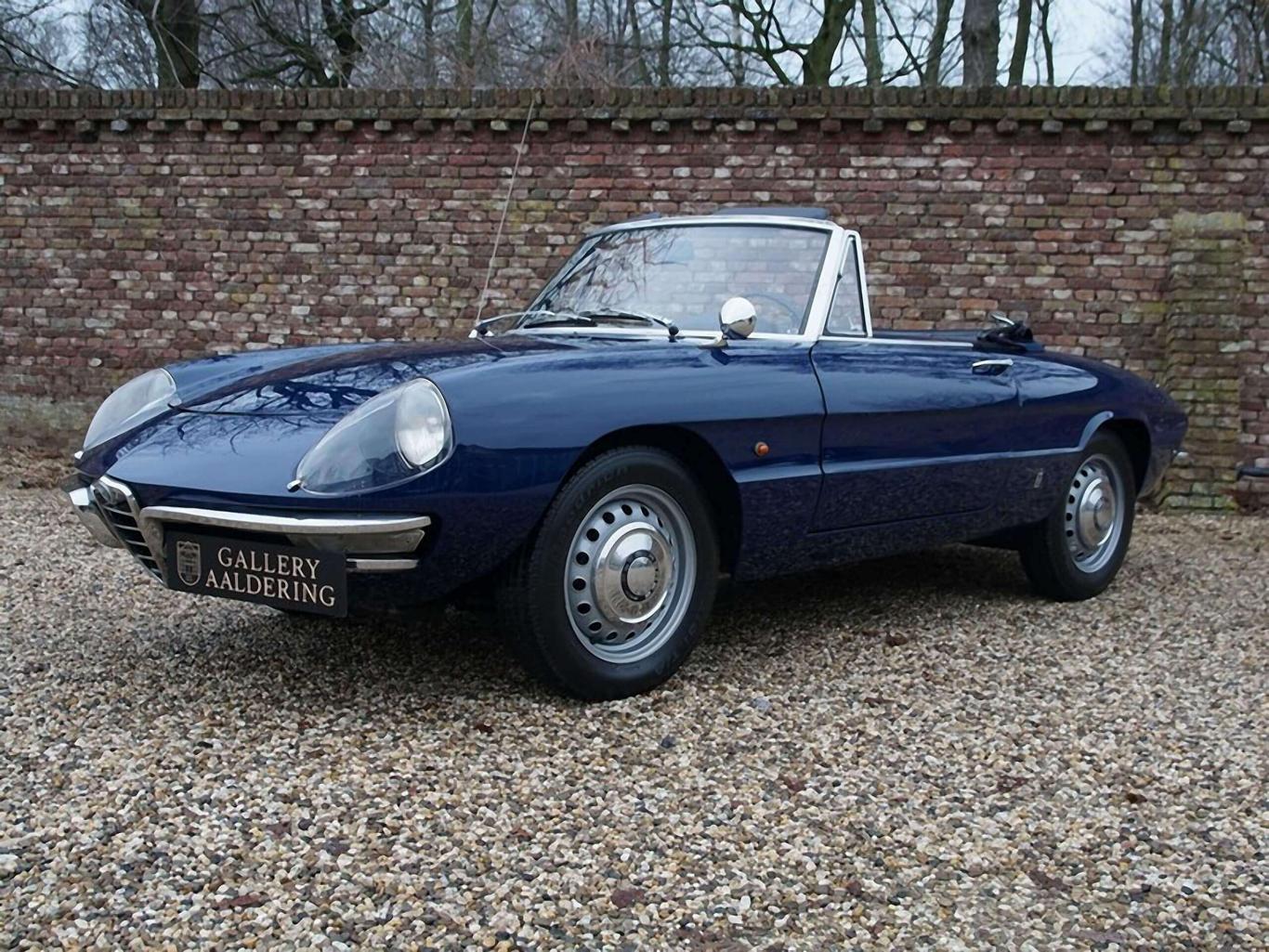 Alfa Romeo Spider >> Alfa Romeo Spider Duetto 1600 German Car Highly Original