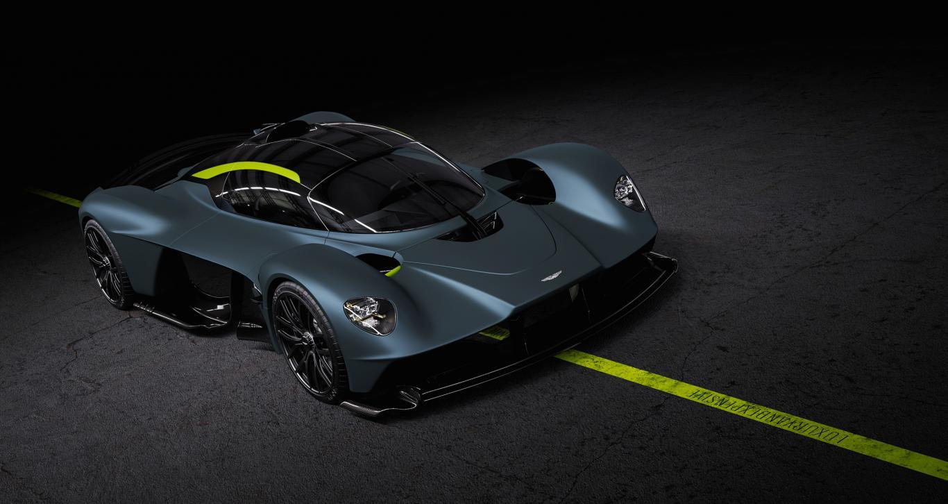 Aston Martin Valkyrie Buildslot 2021