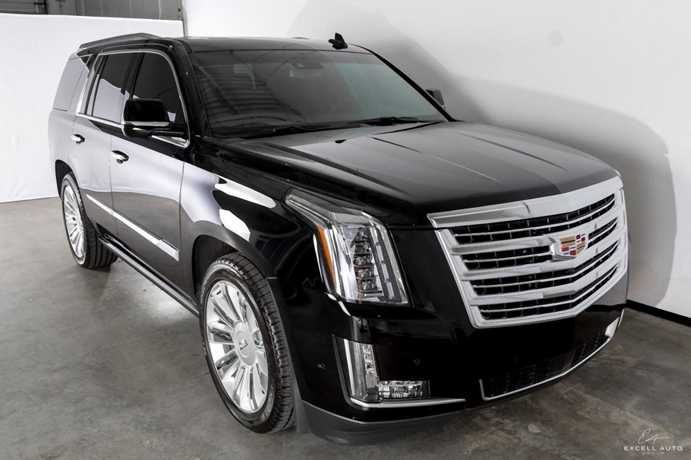 Cadillac Escalade Platinum >> Cadillac Escalade Platinum Loaded Black Black
