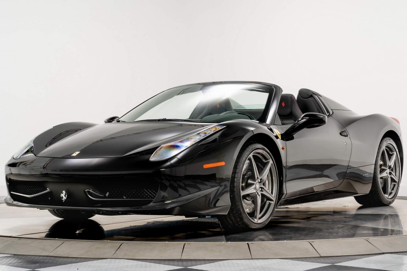 Ferrari 458 Spyder >> Ferrari 458 Spider Convertible