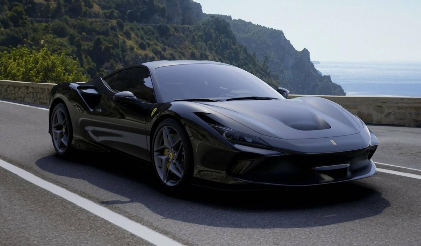 Ferrari F8 Tributo (Black), new car! now for € 357,000