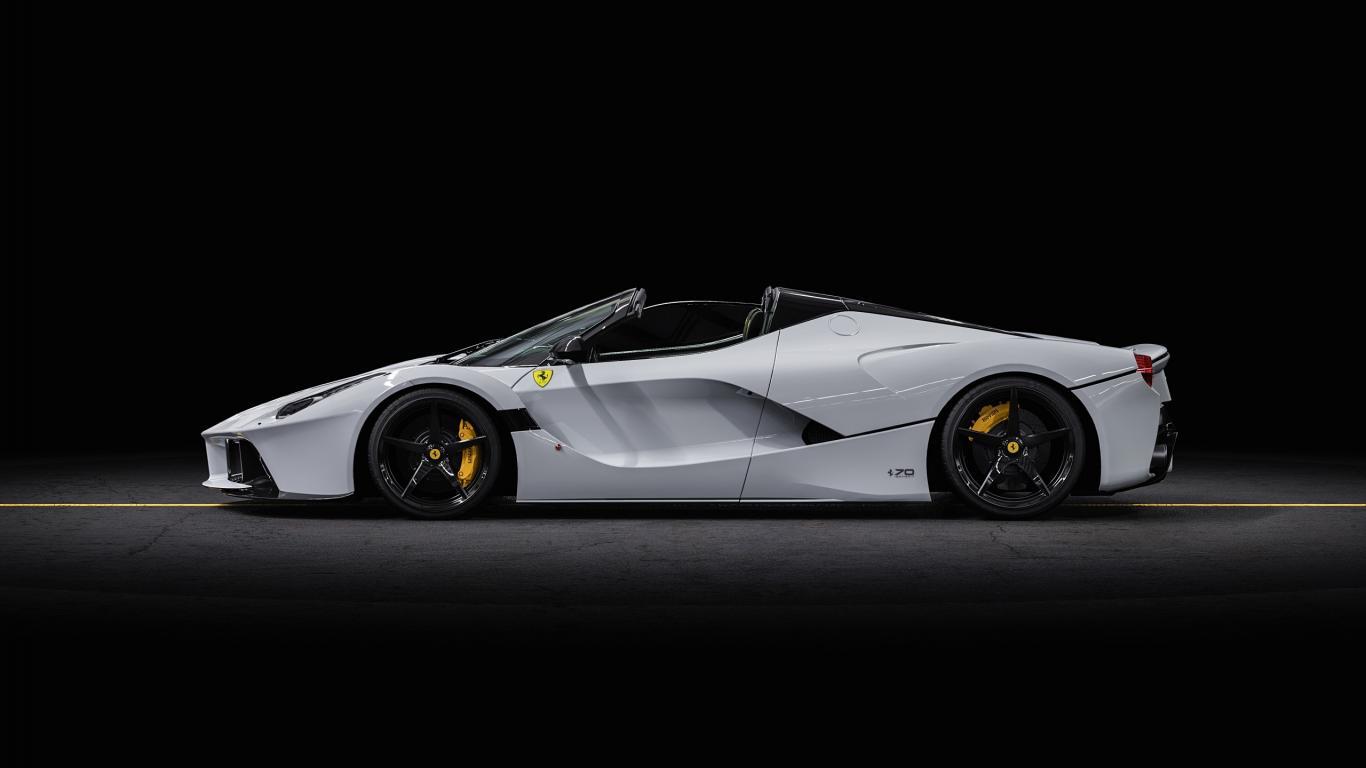 Ferrari LaFerrari Aperta , In Stock , white