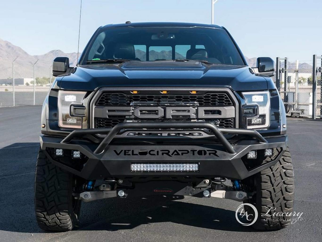 Ford F 150 Raptor Hennessey Velociraptor 6x6 Truck