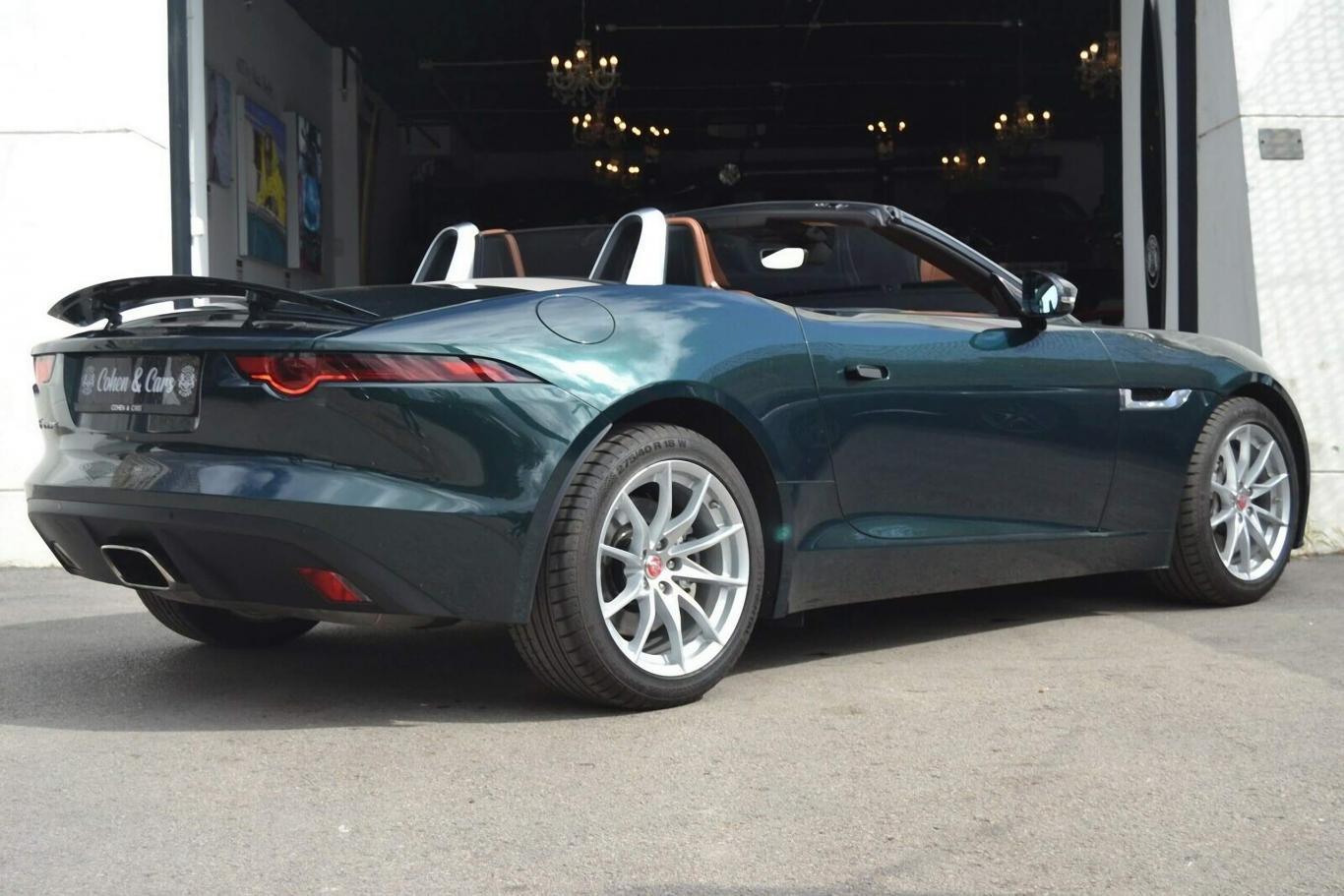 Jaguar F Type Convertible >> Jaguar Jaguar F Type Convertible 2 0 I4 Aut 300cv