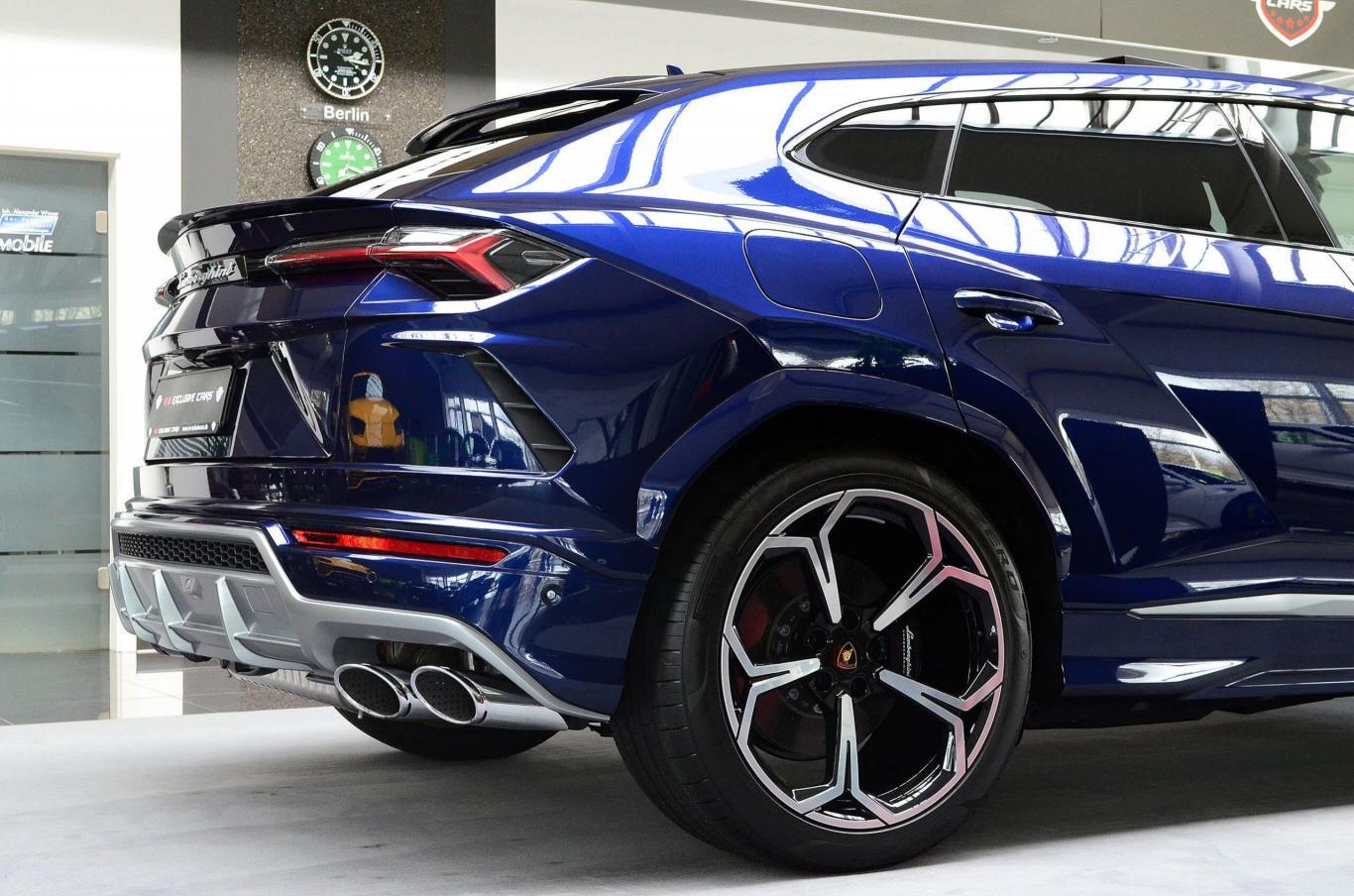 Lamborghini Urus OnStock! Mega full equipment Blue/Beige Pan