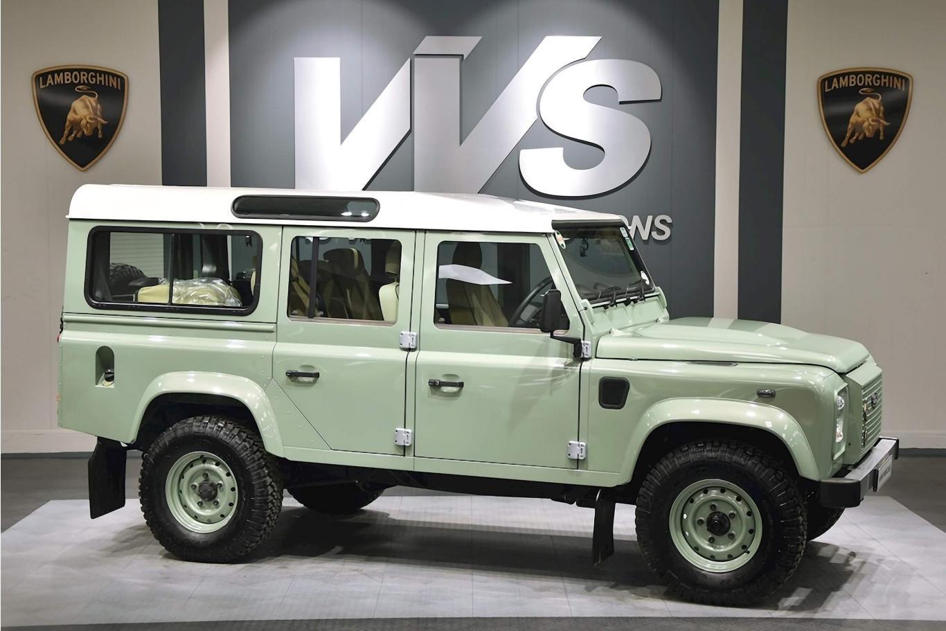 Land Rover Defender 110 >> Land Rover Defender 110 Heritage Td