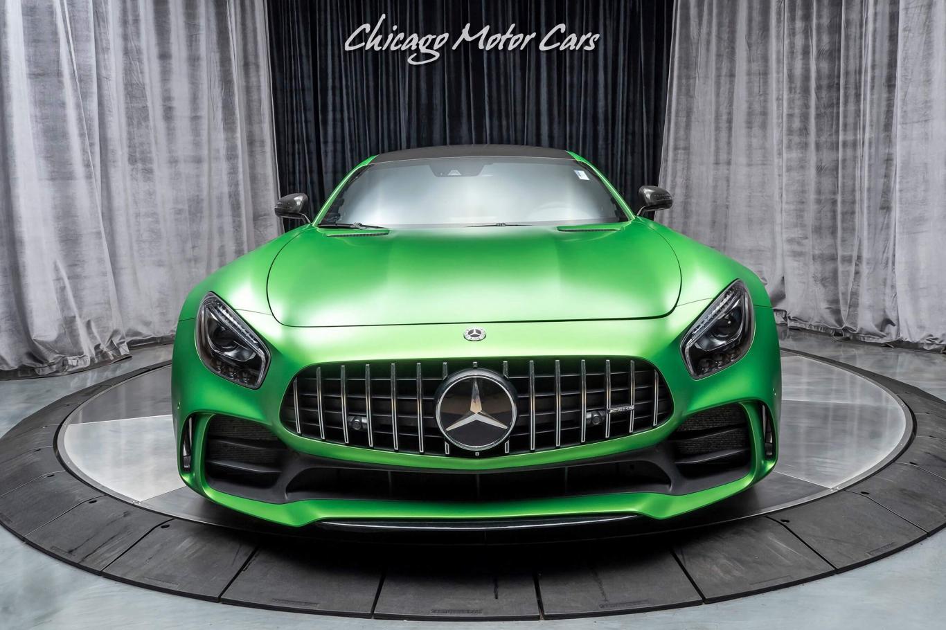 Amg Gt R >> Mercedes Benz Amg Gtr Coupe Green Hell Magno Paint
