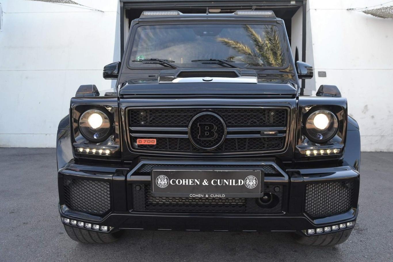 Mercedes Benz Brabus >> Mercedes Benz Brabus G700 5 5 V8 700cv De Plates Armoured