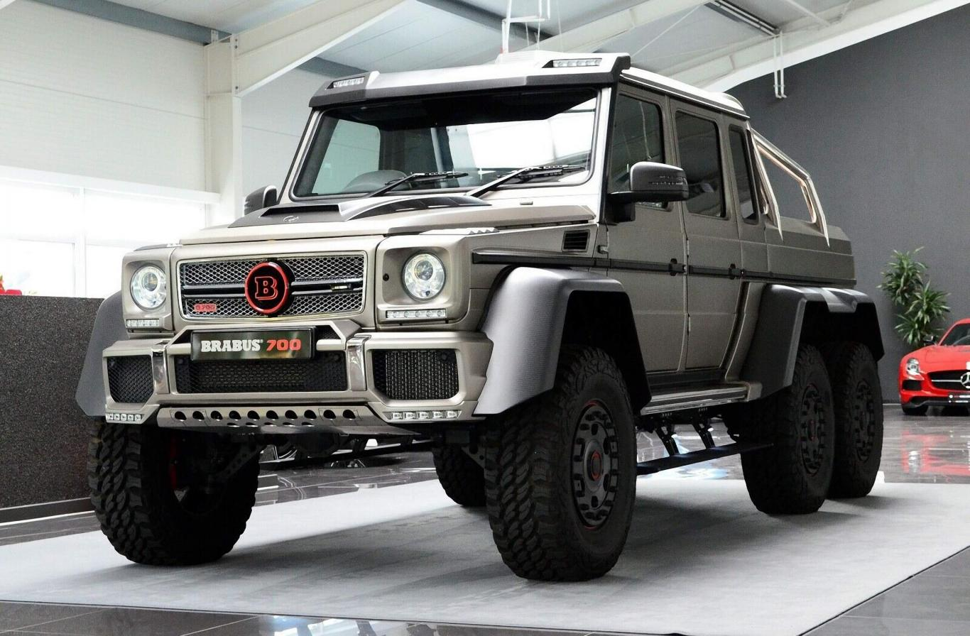 Mercedes 6X6 For Sale >> Mercedes Benz G 63 Amg 6x6 Brabus700 Limitededition 1of 15 Rhd