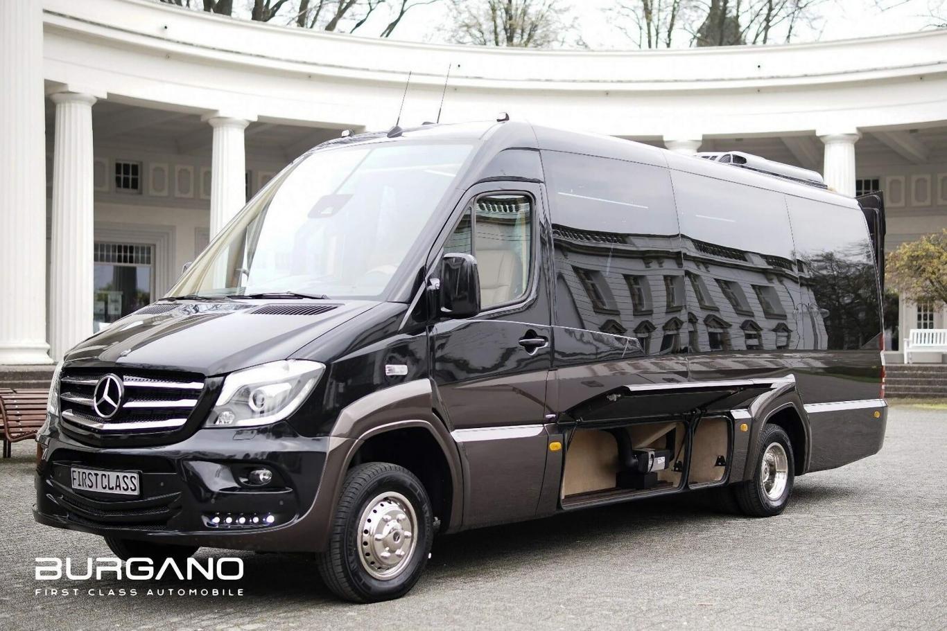 4X4 Sprinter Van For Sale >> Mercedes Benz Sprinter 519 4x4 Luxury First Class Van 319 Vip