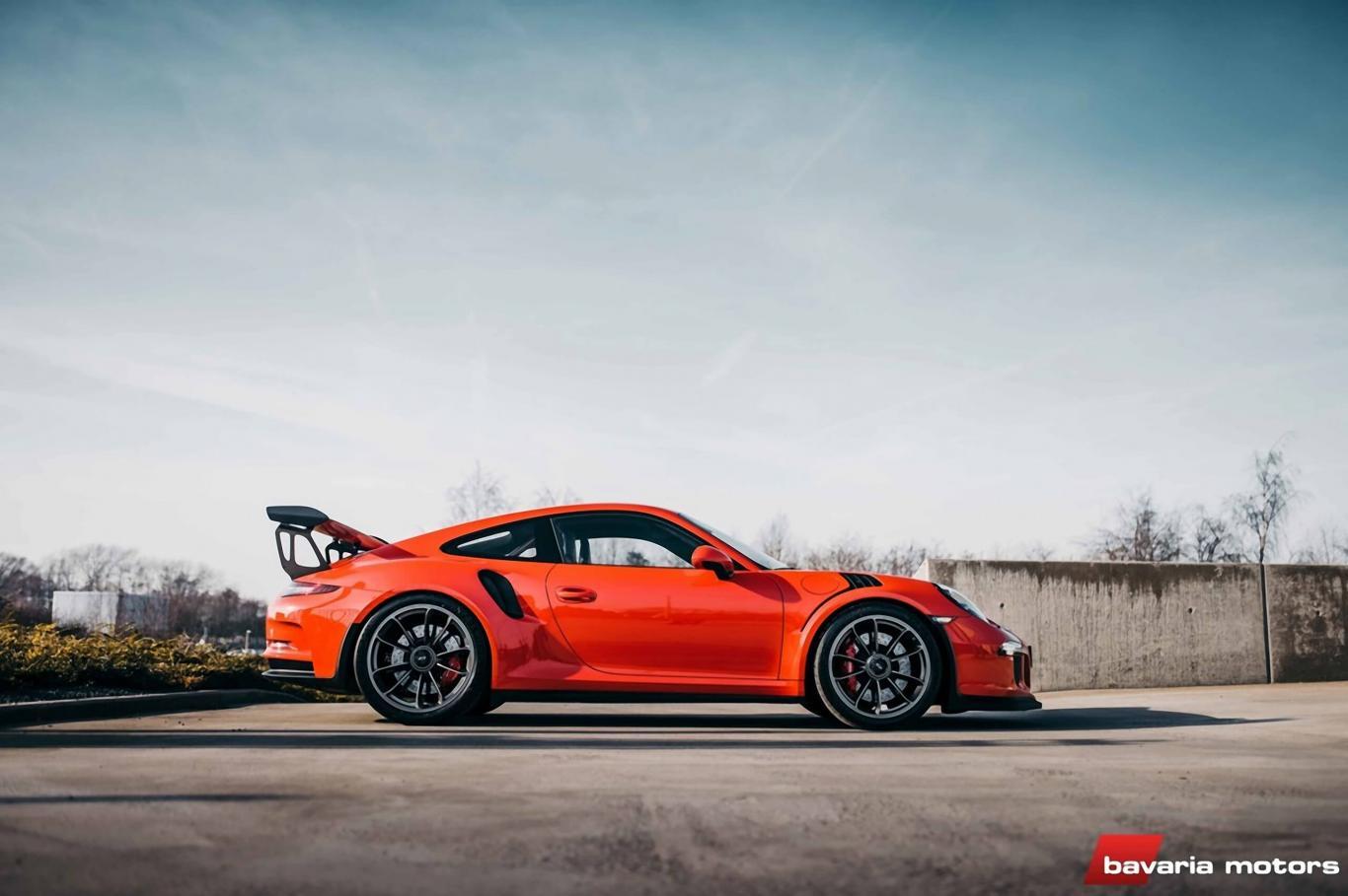 Porsche 991 GT3 RS Lava Orange