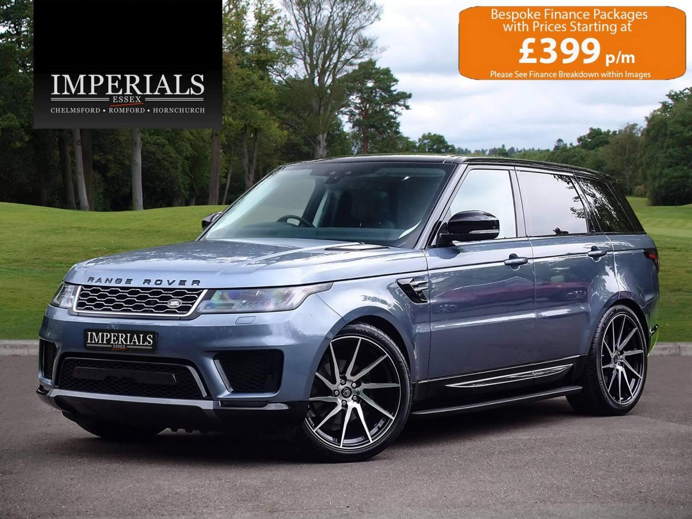 Range Rover Sport >> Land Rover Range Rover Sport 30 Sdv6 Eu6 2018 Model 8 Spee 4x4 Byron Blue With Contrast Black Roof A