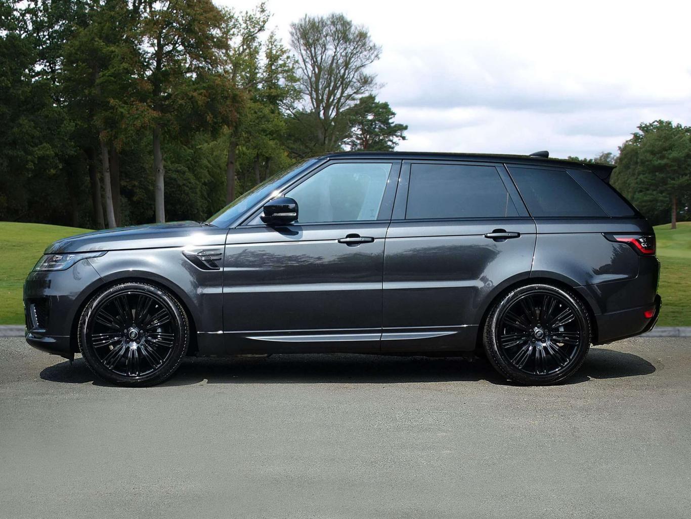 Land Rover Range Rover Sport 30 Sdv6 Hse Dynamic Eu6 2018 4x4 Carpathian Grey Metallic With Contras