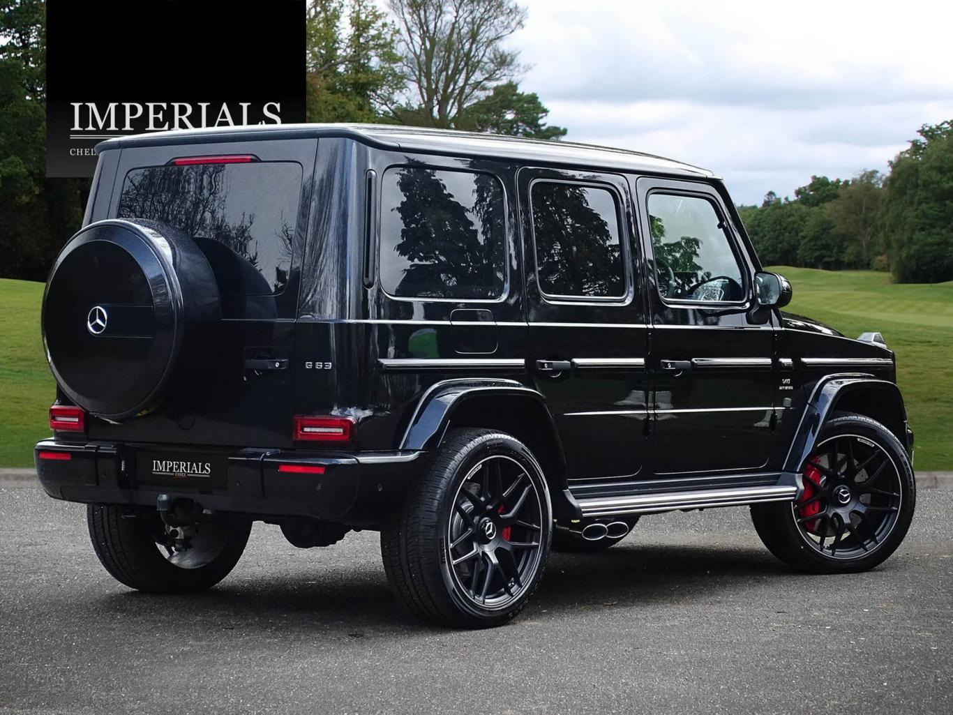 Mercedes Benz G63 Amg 40 V8 New Model Vat Q 9 Speed 4x4 Obsidian Black Metallic Automatic Petrol