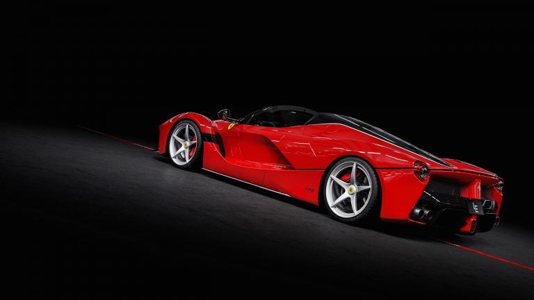 Ferrari Laferrari Aperta Red 160 Km Top Condition For Sale