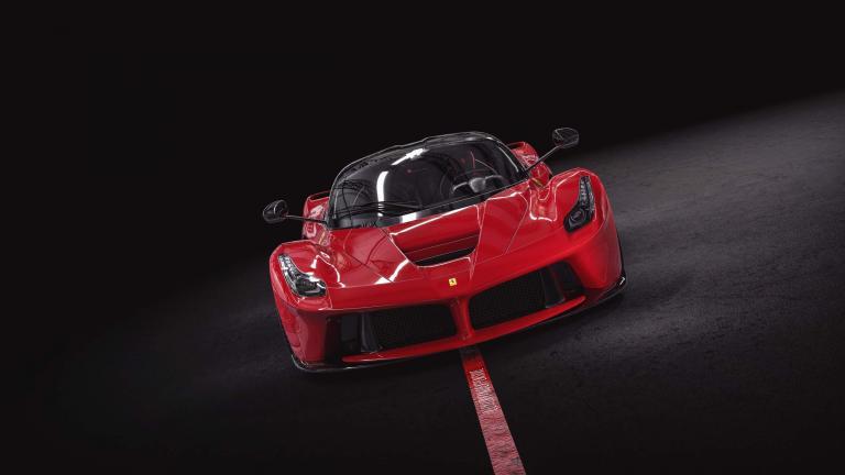 Ferrari Laferrari Red 520 Km Pristine Condition For Sale
